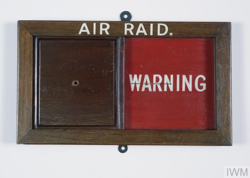 warning sign, Air Raid, all clear/warning