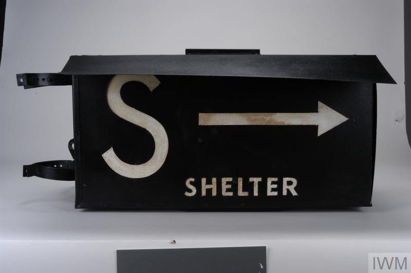 ARP illuminated 'Shelter' sign
