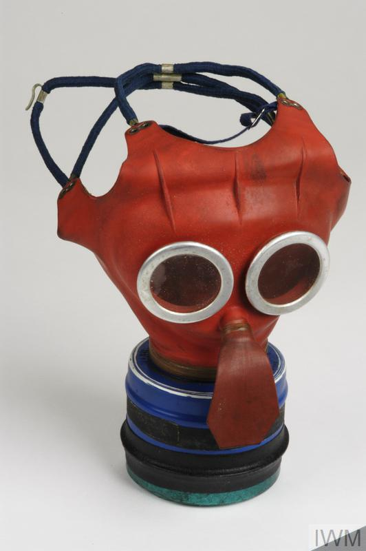 Respirator, anti-gas, child's 'Mickey Mouse' (boxed): British