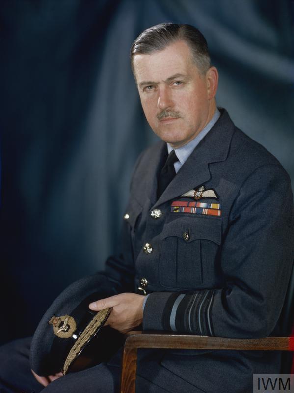 Half length portrait of Air Chief Marshal Sir Trafford Leigh-Mallory.