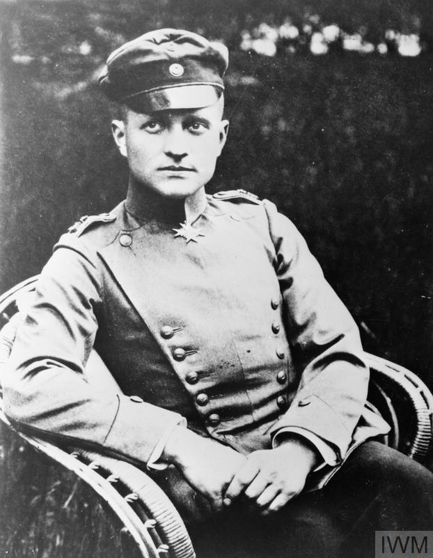 "Portrait of ""The Red Baron"", Manfred von Richthofen"