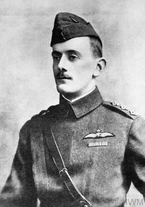 Captain Lanoe George Hawker VC DSO of No. 24 Squadron RFC.