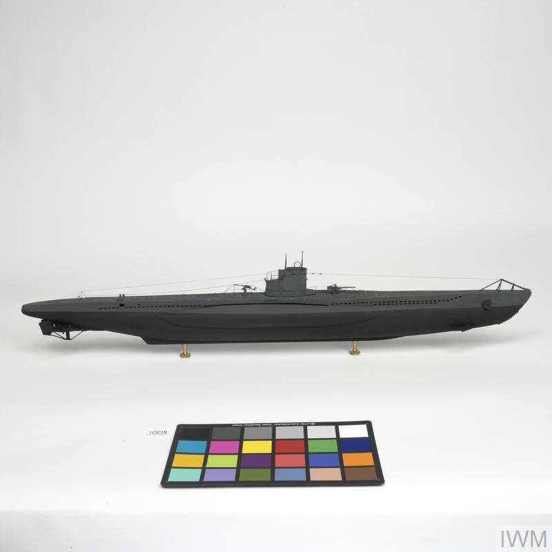 Ship Scale Model, Type VIIB U-Boat U-47: German