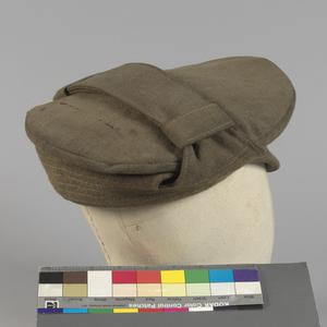 Cap, 1915 Pattern Winter Trench Cap: O/Rs, Middlesex