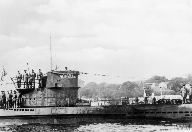 U-boat Operation: U 48, commanded by Kapitan Leutnant Herbert Schultze returns to port in 1941.