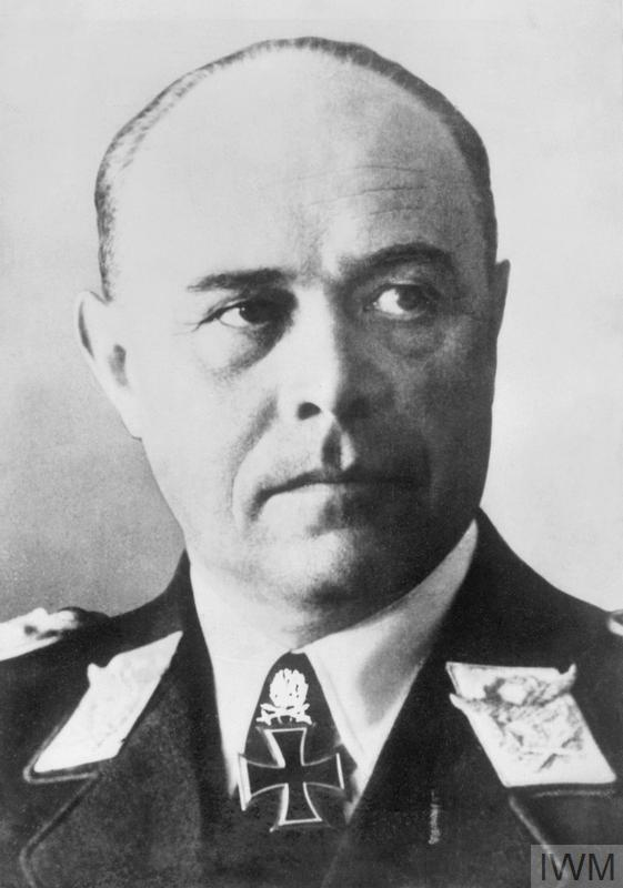 The German Commander-in-Chief in Italy, Field Marshal Albrecht Kesselring.