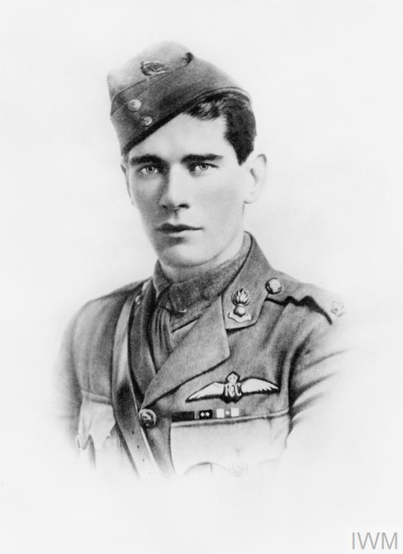 "Mannock, Edward ""Mick"", Royal Flying Corps: Place and date of deed, France, May 1917 - July 1918."