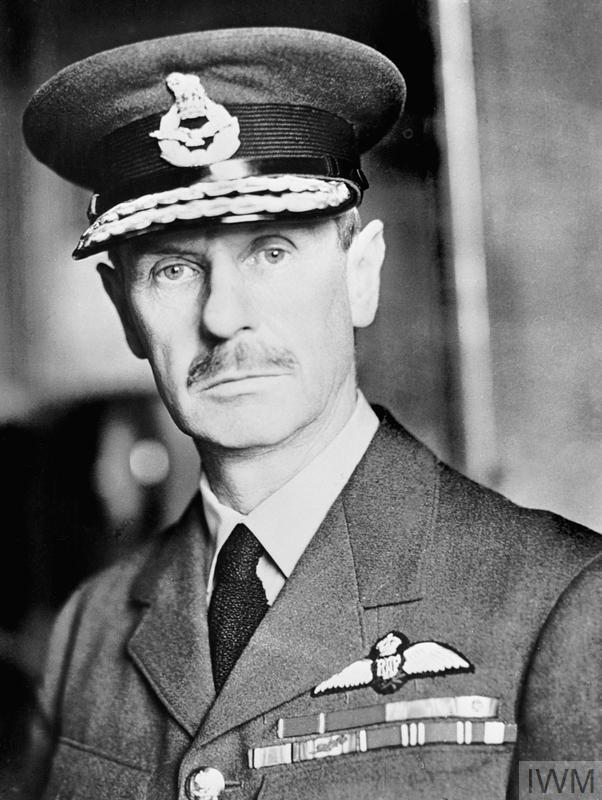 Air Chief Marshal Sir Hugh C T Dowding, Commander in Chief of Royal Air Force Fighter Command during the Battle of Britain.