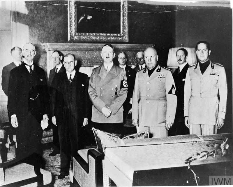 The Munich Agreement September 1938 Imperial War Museums