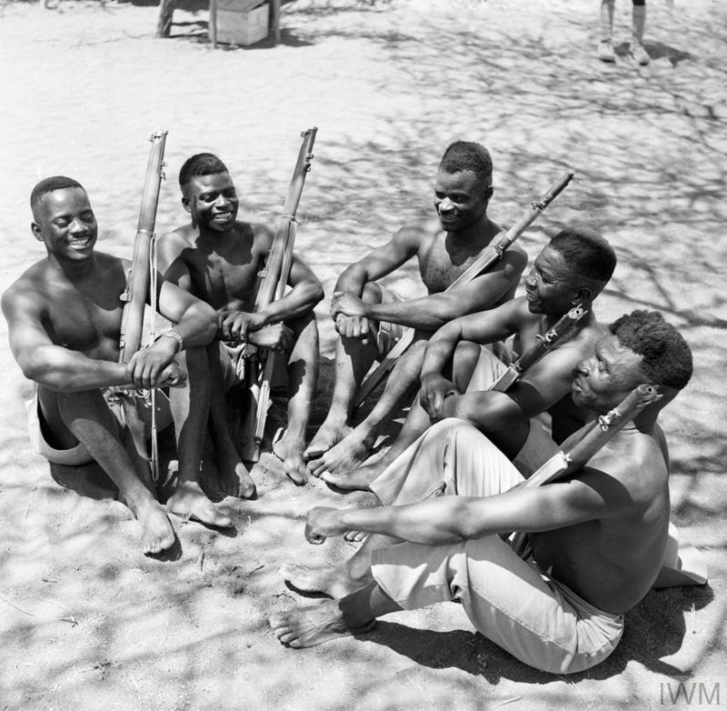THE KING'S AFRICAN RIFLES IN EAST AFRICA, 1941