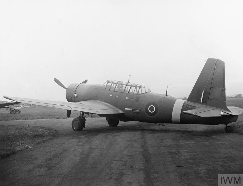 AMERICAN AIRCRAFT IN ROYAL AIR FORCE SERVICE 1939-1945: VULTEE MODEL 72 VENGEANCE.