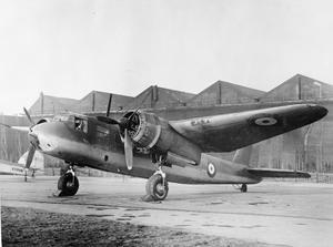 AIRCRAFT OF THE ROYAL AIR FORCE, 1939-1945: BLACKBURN B-26 BOTHA.