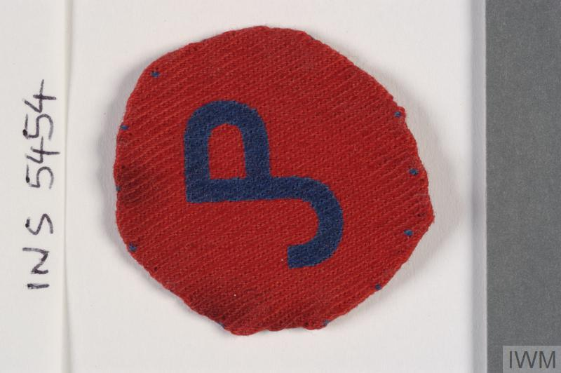 badge, formation, 54th (East Anglian) Infantry Division & 162nd Infantry Brigade