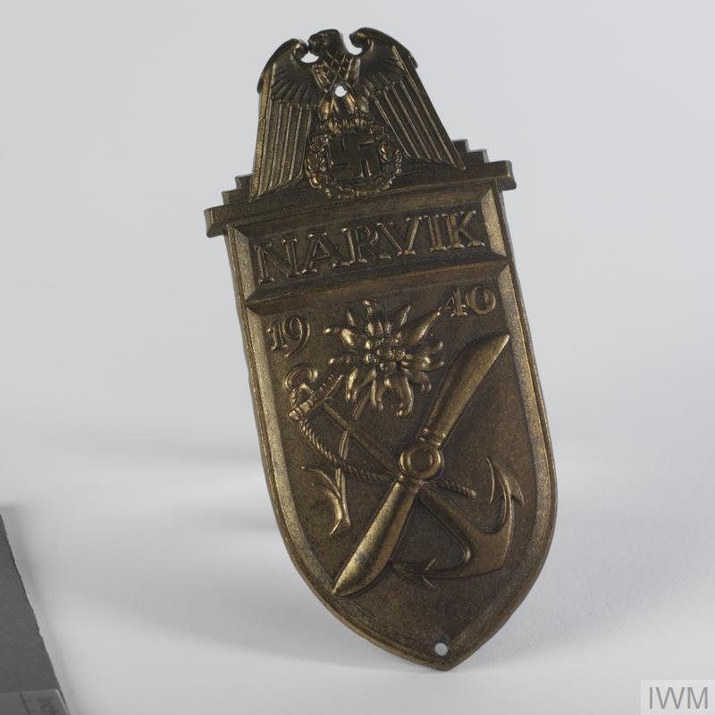 badge, German, Narvik armshield, Navy