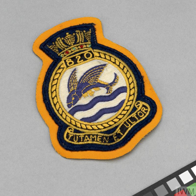 squadron badge, Fleet Air Arm, 820 Squadron | Imperial War