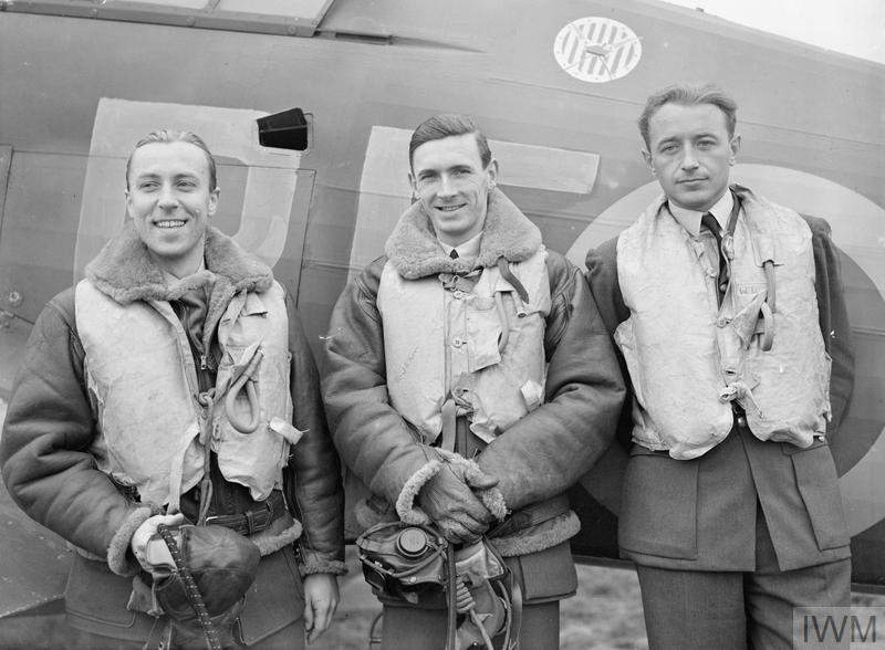 Pilots from No.303 Fighter Squadron