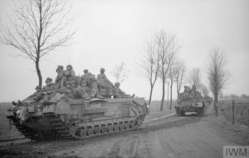 BRITISH TANKS AND AFVS IN NW EUROPE 1944-45