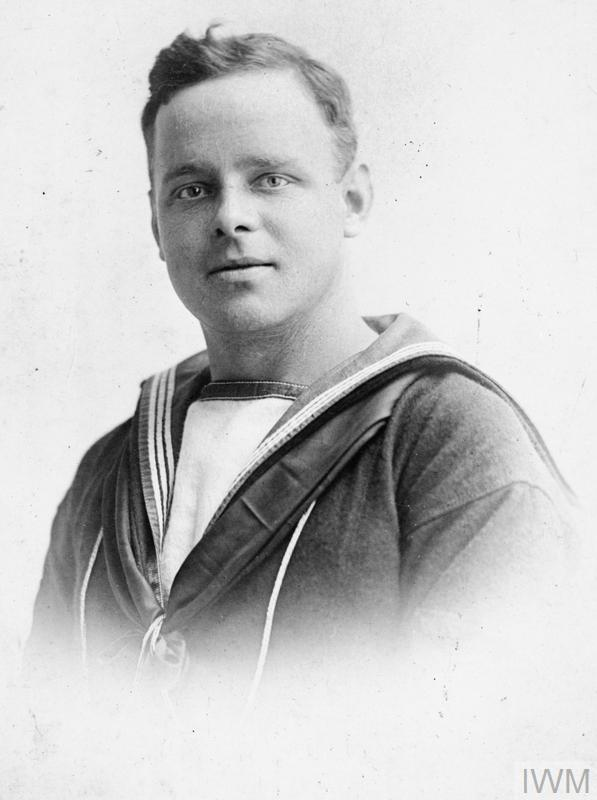 Portrait of R H Broome of the Royal Navy