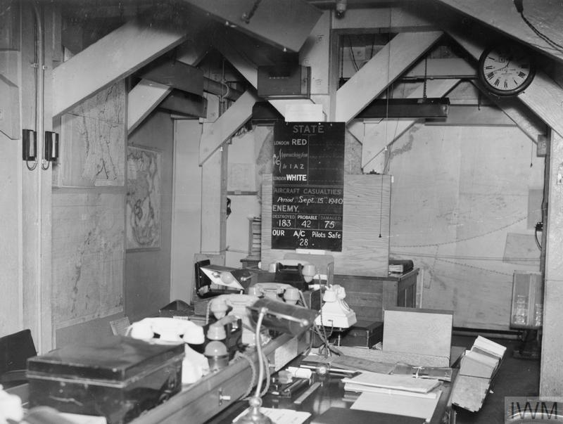 THE CABINET WAR ROOMS IN 1945