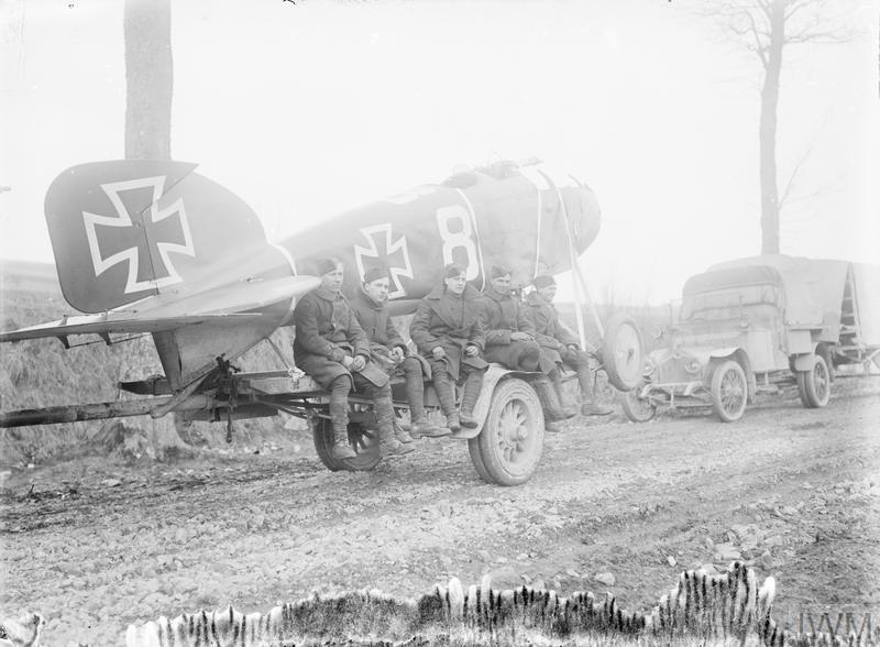AIR WARFARE DURING THE FIRST WORLD WAR, 1914-1918