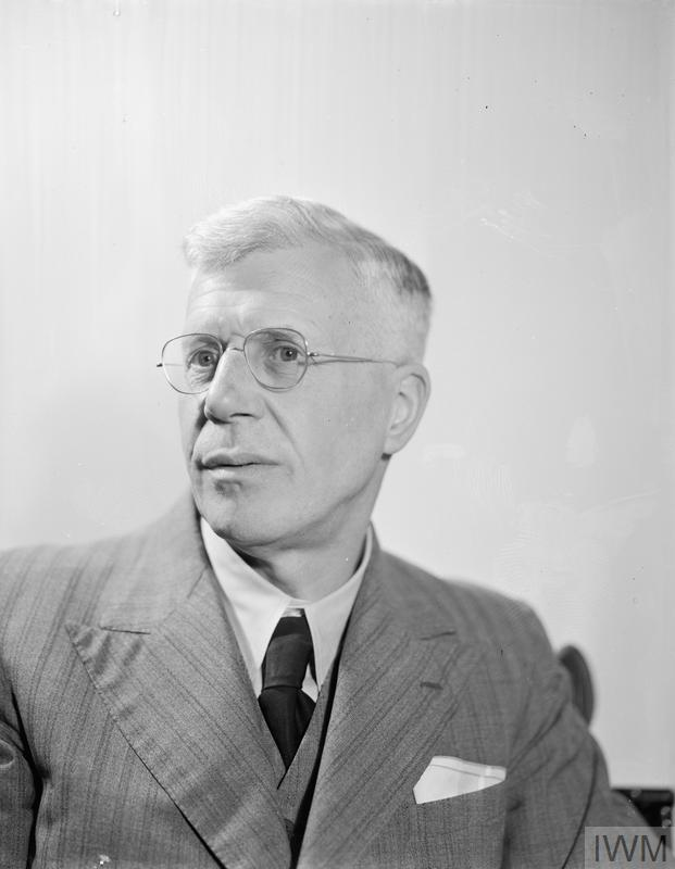 Head and shoulders portrait of Dr Barnes Wallis.