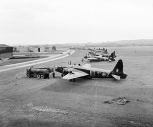 Vickers Wellington medium range bombers