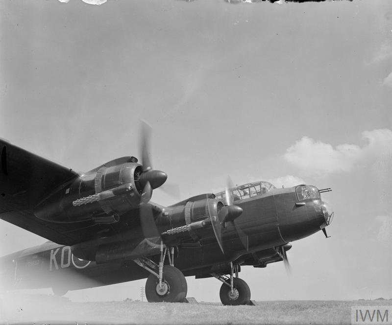 AIRCRAFT OF THE ROYAL AIR FORCE, 1939-1945: AVRO 683 LANCASTER.