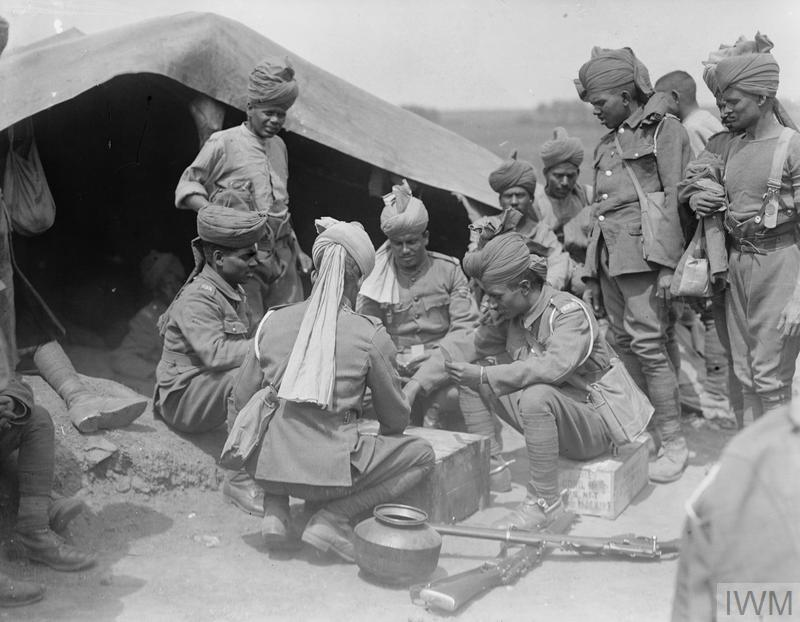 THE INDIAN ARMY ON THE WESTERN FRONT, 1914-1918