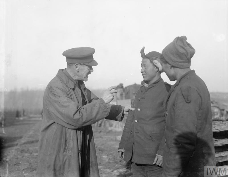 THE CHINESE LABOUR CORPS ON THE WESTERN FRONT, 1916-1918