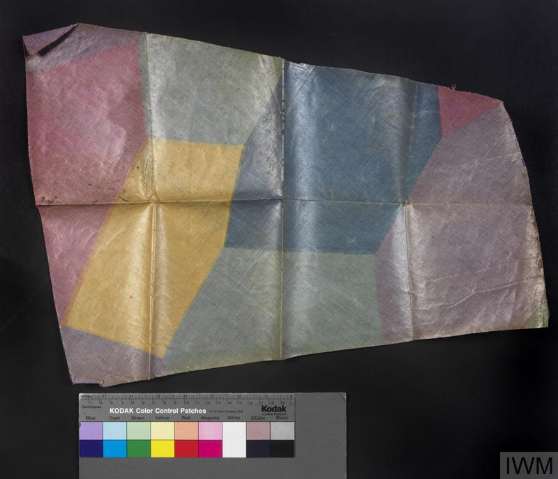 camouflaged aircraft fabric