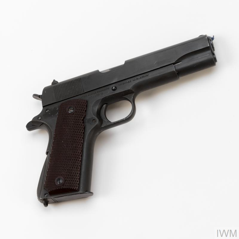Colt Government Model 1911A1 pistol | Imperial War Museums
