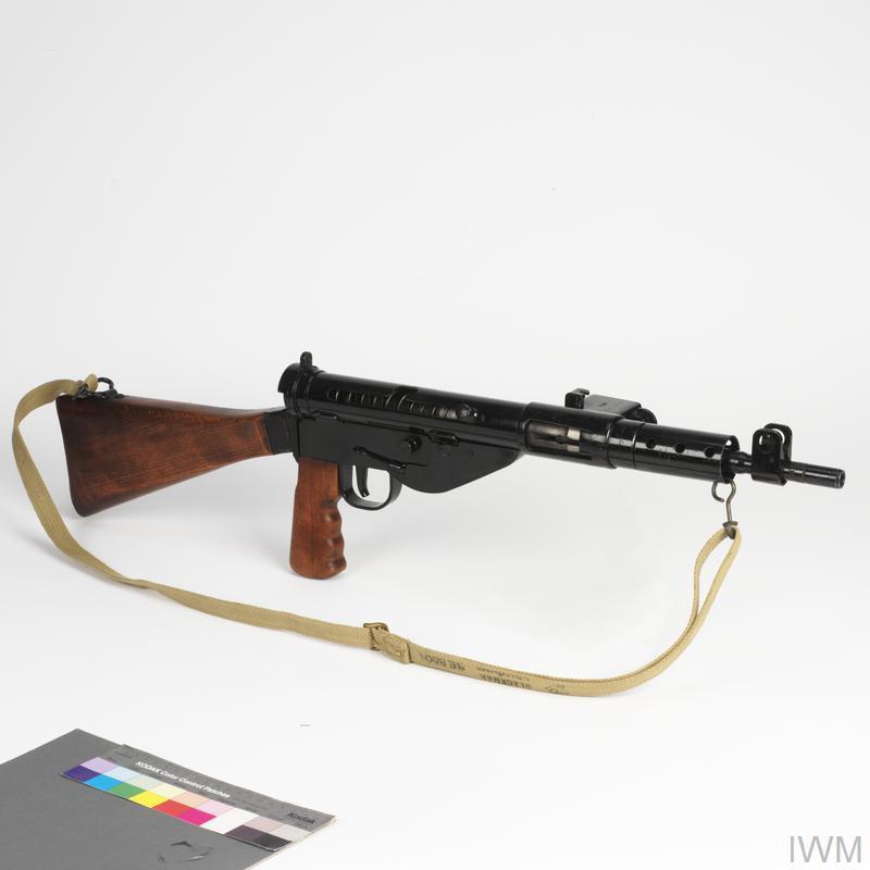 British 9mm Sten machine-carbine Mk2 | Imperial War Museums