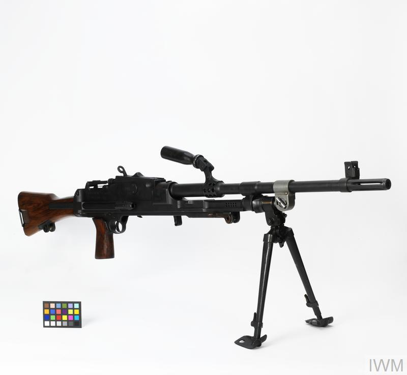 Gun Machine 7 62mm IA [Indian Bren gun] | Imperial War Museums