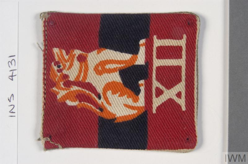 badge, formation, 12th Army
