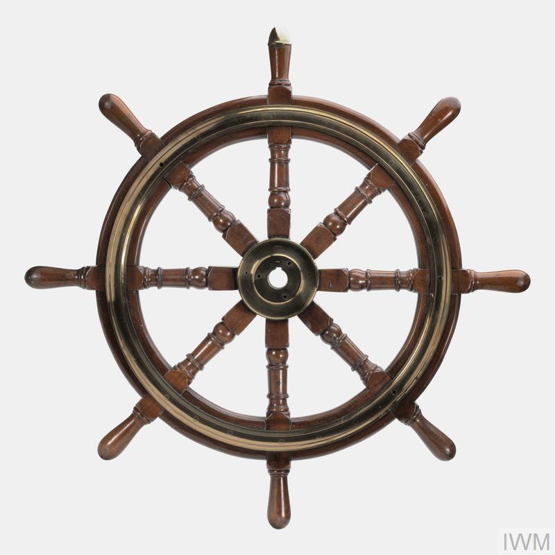 Accessory, Ship's Wheel (HMS Warspite), British | Imperial