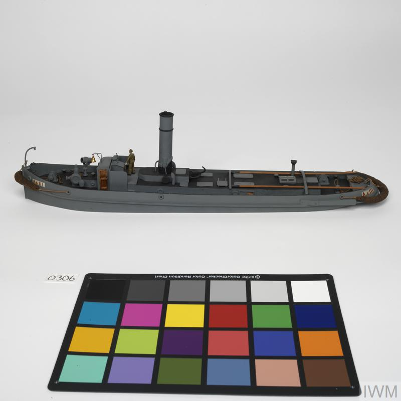 Inland Water Transport Steam Tug-Large | Imperial War Museums
