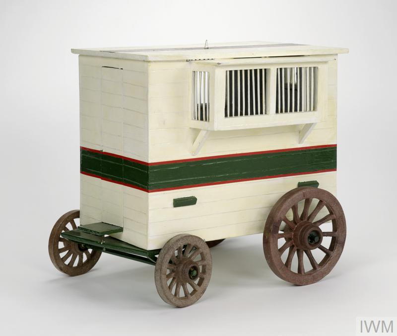 Horsedrawn Mobile Pigeon Loft | Imperial War Museums