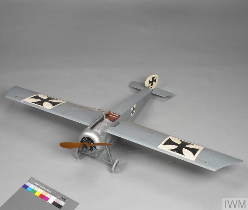 A model of the Fokker Eindecker