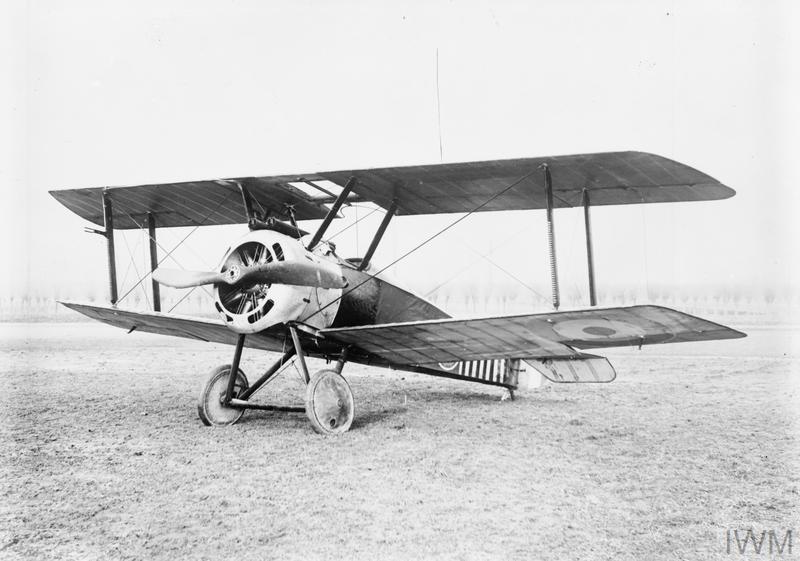 BRITISH AIRCRAFT OF THE FIRST WORLD WAR 1914-1918