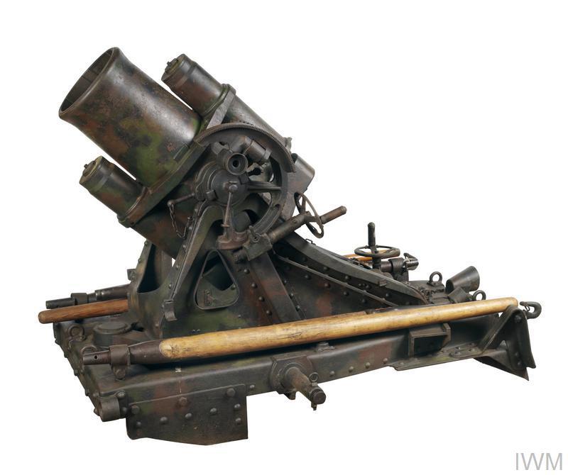 25 cm Minenwerfer (Heavy Trench Mortar)