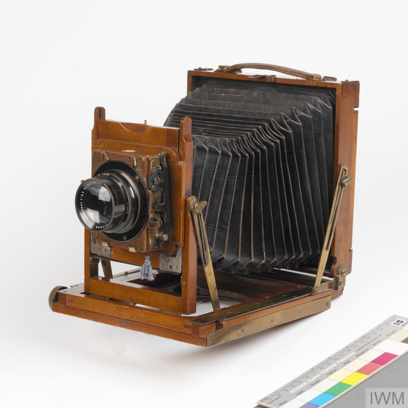Thornton Pickard Imperial 1/4 plate camera