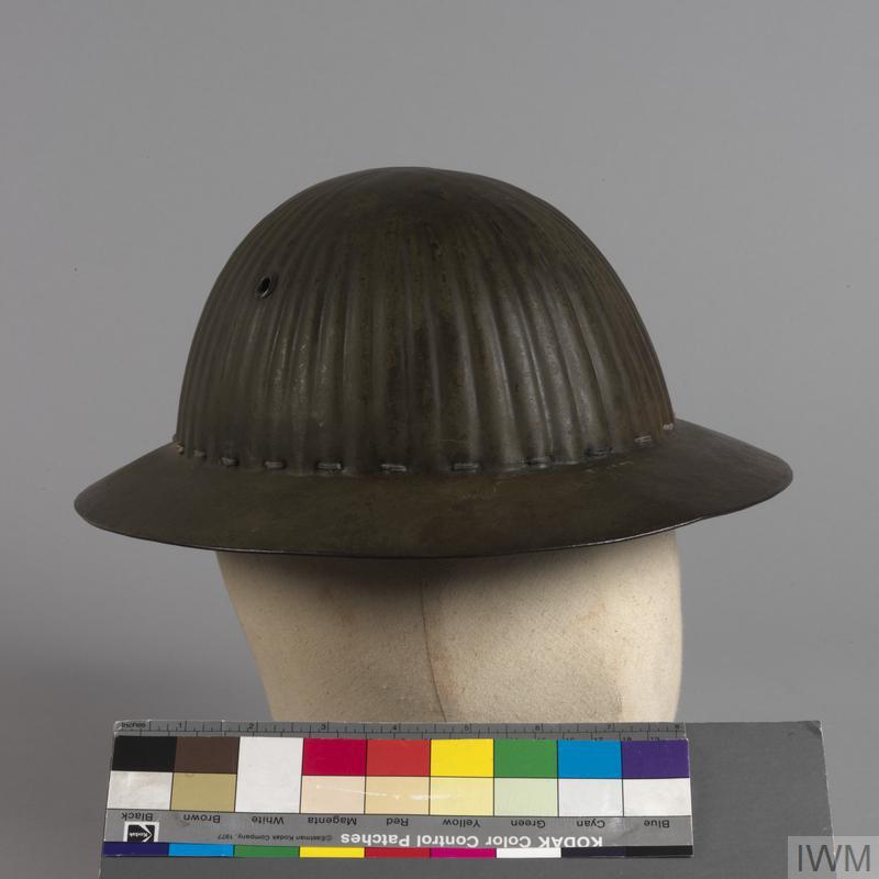 steel helmet MKI (Portuguese)   Imperial War Museums