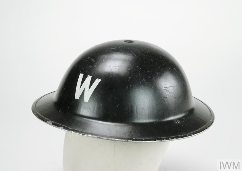 Steel Helmet, MKII: Assistant Post Warden, ARP