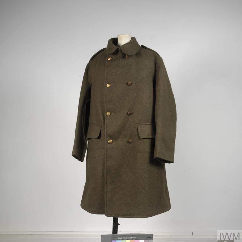 O Rs British Army Imperial War Museums, Ww1 Trench Coat Pattern