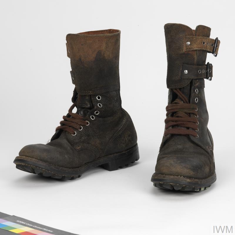 Boots Combat Rhodesian Imperial War Museums