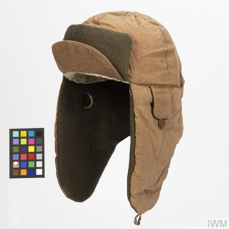 9b24c8b89beab6 Hat, winter (quilted) field cap: Chinese   Imperial War Museums