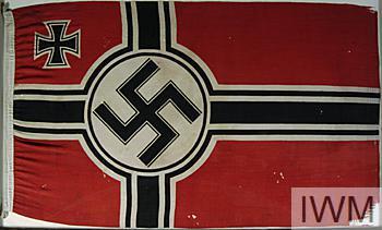 Flag, Kriegsmarine Naval Ensign, German | Imperial War Museums