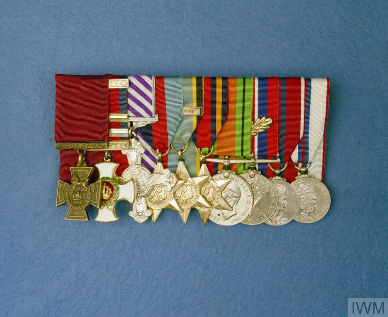 DECORATIONS OF GROUP CAPTAIN LORD CHESHIRE OF WOODHALL, VC, OM, DSO & 2 BARS, DFC