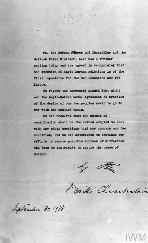 The munich agreement september 1938 imperial war museums download platinumwayz