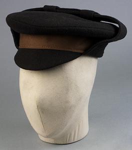 Cap, 'Gor Blimey' style, O/Rs: British POW Clothing